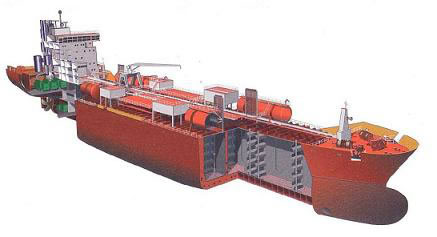 Picture 4 A bunker ship double steel hull example